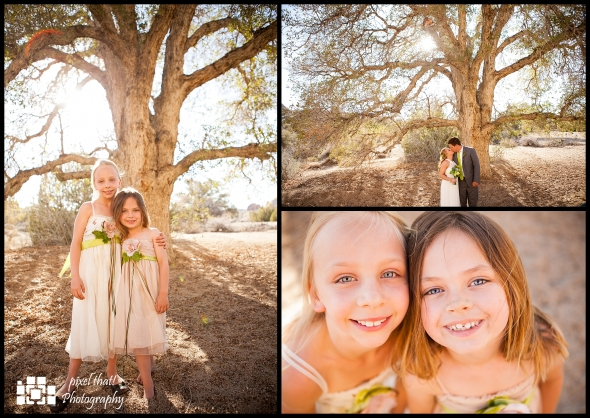 Flower Girls - Wedding Details - Joshua Tree California Elopment