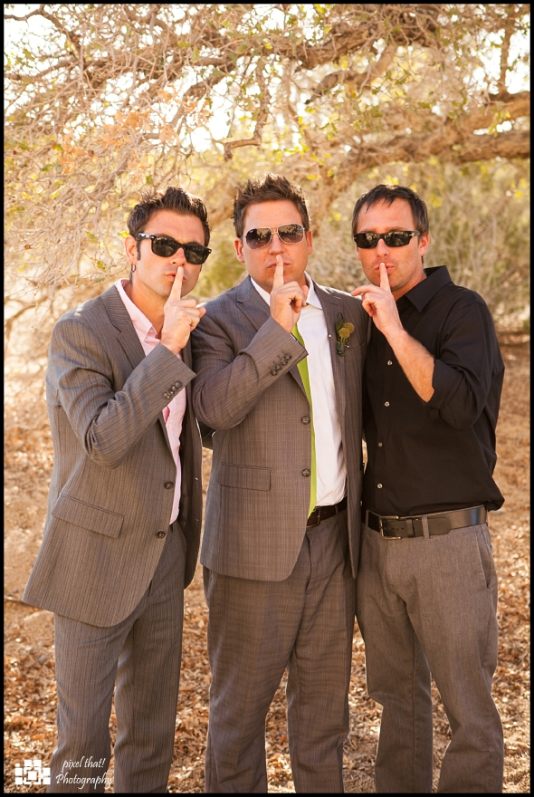 Groomsmen - Wedding Details - Joshua Tree California Elopment
