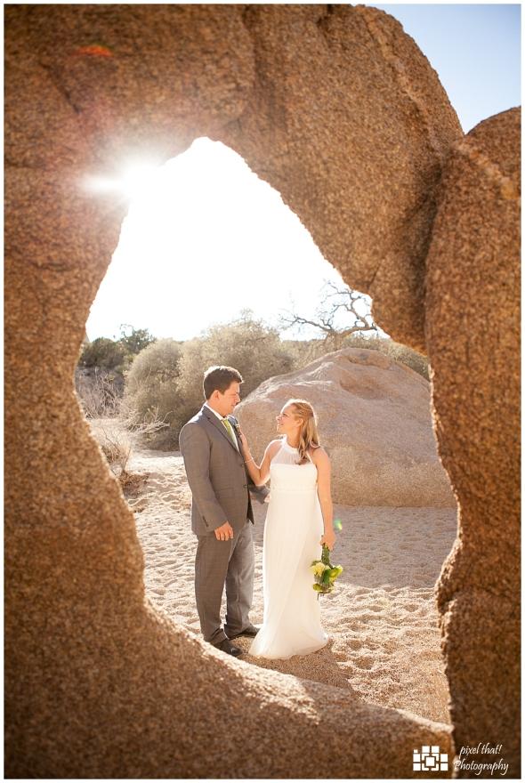 Bride & Groom - Wedding Details - Joshua Tree California Elopment