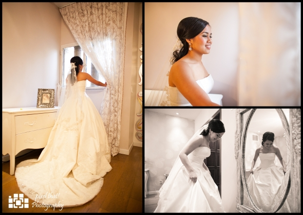 Bridal room - Getting ready and feeling anxious :)